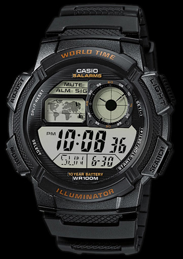 Casio MATHIS -10BAR+ PUDEŁKO