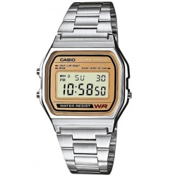Zegarek unisex CASIO COLLECTION RETRO A158WEA-9EF