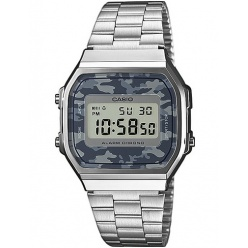 Zegarek unisex CASIO COLLECTION RETRO A168WEC-1EF
