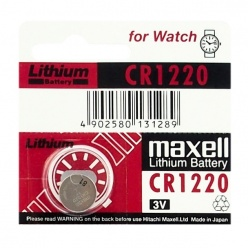 Bateria do zegarka MAXELL CR1220 3V do GA-100