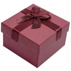 12a4532c9cf0f9 bordowe pudełko prezentowe na zegarek exclusive