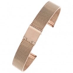 Bransoleta mesh JK PRO1803- IPG rose gold -18mm