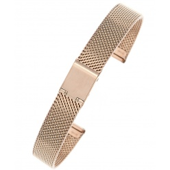Bransoleta mesh JK  PRO1603- IPG rose gold -16mm