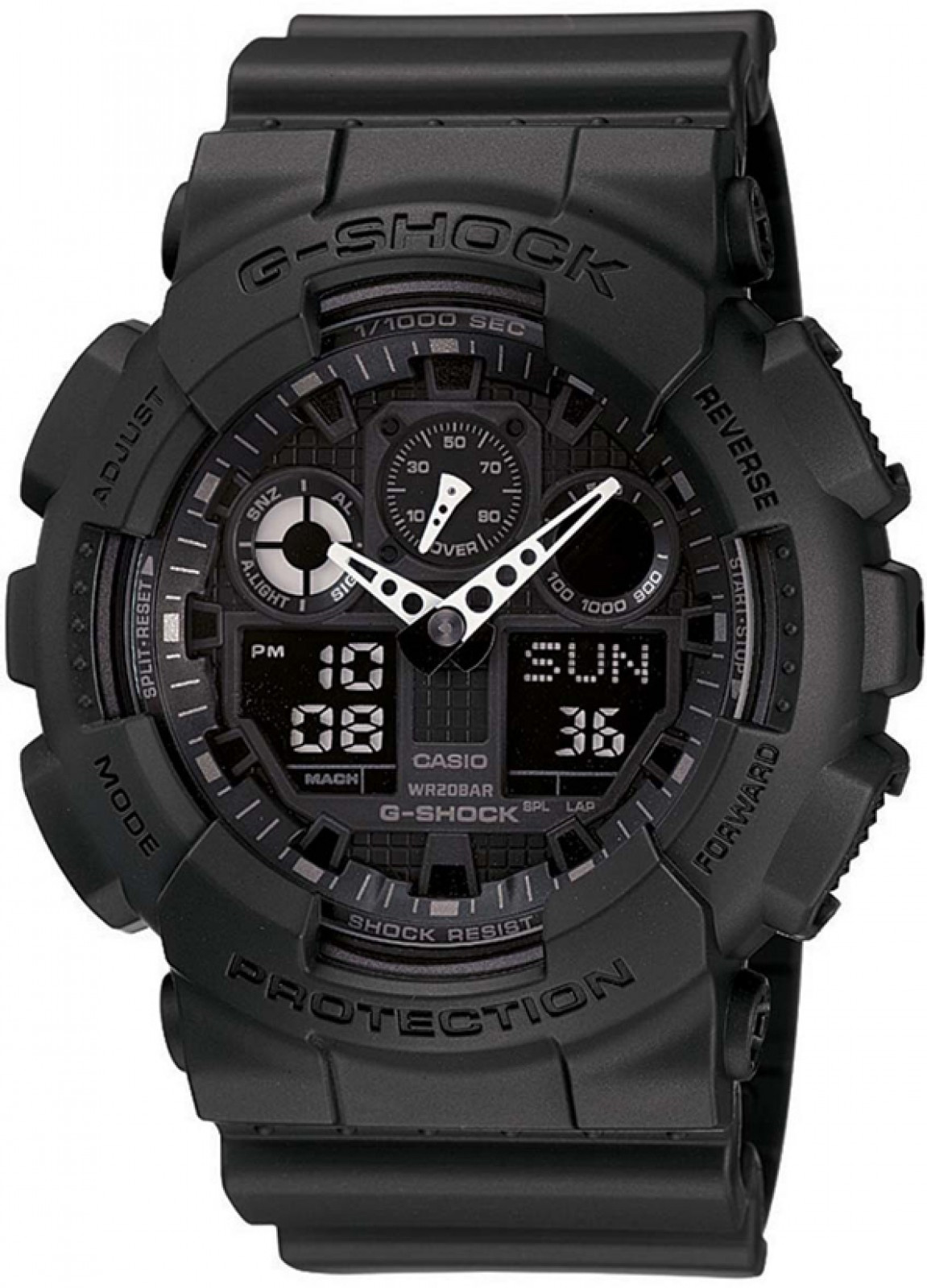 Casio G-SHOCK FALCON  GA-100-1A1ER 20 BAR+ PUDEŁKO