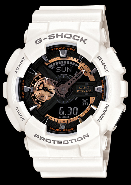 6404f70d1b94b1 Zegarek męski Casio G-SHOCK STRIKE GA-110RG-7AER - alleTime