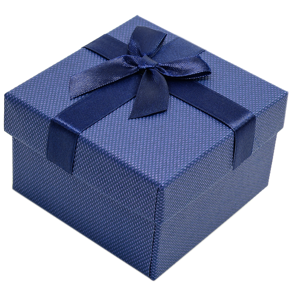 7ff3fde1da0195 Granatowe pudełko prezentowe na zegarek exclusive - 7687 - alleTime