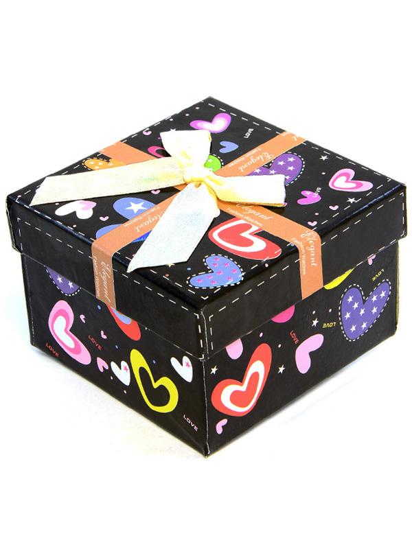 f3c2509933fd28 Prezentowe pudełko na zegarek ELEGANT -6A - czarny - alleTime
