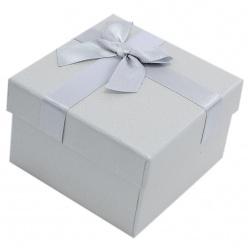 1070729a865af7 srebrne pudełko prezentowe na zegarek exclusive
