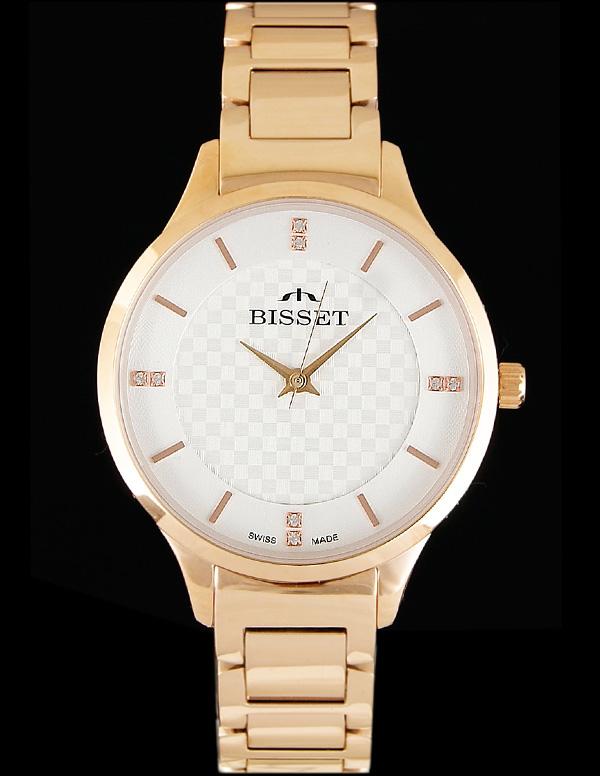 Szwajcarski zegarek damski Bisset Billani rosegold