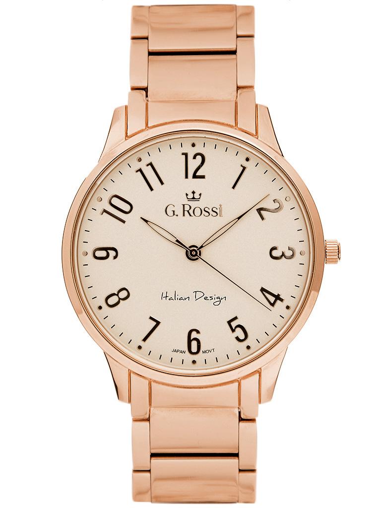 166e7c353d97e Zegarek damski Gino Rossi ALONA- 550B-4D2 różowo złoty - alleTime