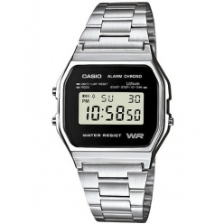 Zegarek unisex CASIO COLLECTION RETRO A158WEA-1EF
