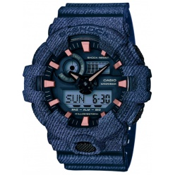 Zegarek męski Casio G-SHOCK GA-700DE-2AER  DENIM'D COLOR -30%