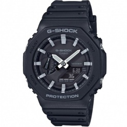 zegarek męski casio g-shock ga-2100-1a1er carbon core guard