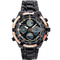 zegarek męski perfect- carrero dual time - a816-7a