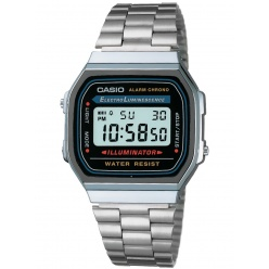 Zegarek unisex CASIO COLLECTION RETRO A168WA-1YES