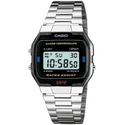 Zegarek unisex CASIO COLLECTION RETRO A163WA-1QES
