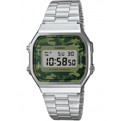 Zegarek unisex CASIO COLLECTION RETRO A168WEC-3EF