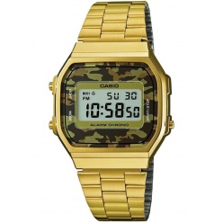 Zegarek unisex CASIO COLLECTION RETRO A168WEGC-5EF
