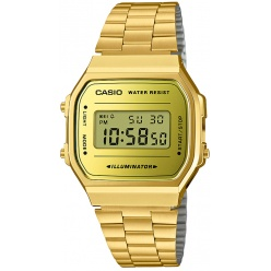 Zegarek unisex CASIO COLLECTION RETRO A168WEGM-9EF