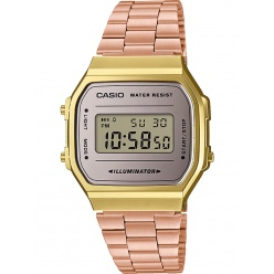 Zegarek unisex CASIO COLLECTION RETRO A168WECM-5EF