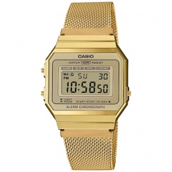 Zegarek unisex CASIO COLLECTION RETRO A700WEMG -9AEF